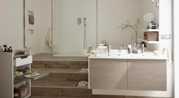 une estrade dans la salle de bains pour quoi faire styles de bain. Black Bedroom Furniture Sets. Home Design Ideas
