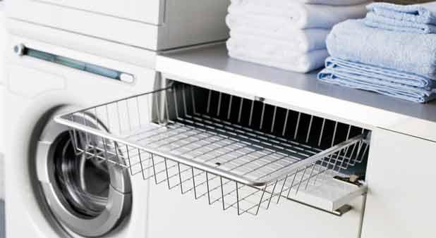 une buanderie comme un meuble dans moins de 1 m. Black Bedroom Furniture Sets. Home Design Ideas