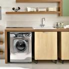 Int grer un lave linge dans la salle de bains - Meuble salle de bain lave linge ...