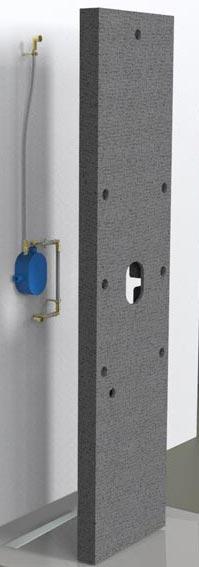 Easy bloc de lazer la robinetterie de douche devient facile encastrer - Kit de douche sans robinetterie ...