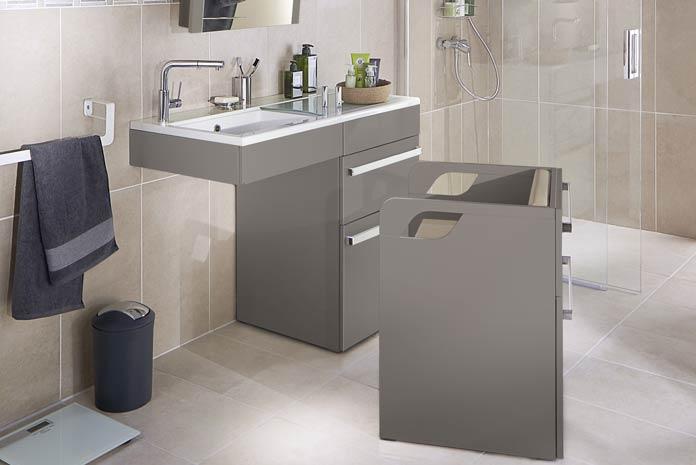 Un meuble de salle de bains pour les personnes g es - Meuble de salle de bain lapeyre ...