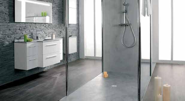 les panneaux en r sine gelcoat d 39 ambiance bain. Black Bedroom Furniture Sets. Home Design Ideas
