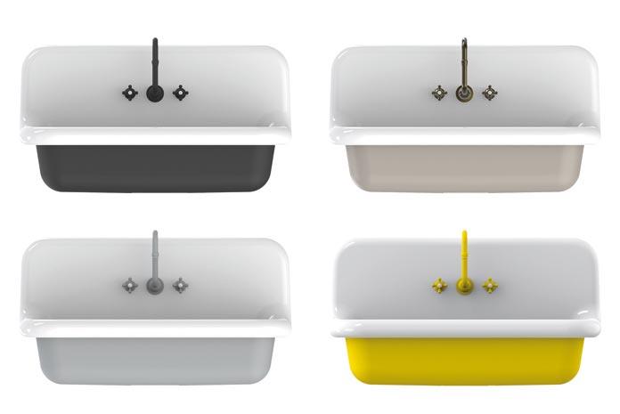 4 points d 39 eau de style industriel styles de bain - Salle de bain style industriel ...