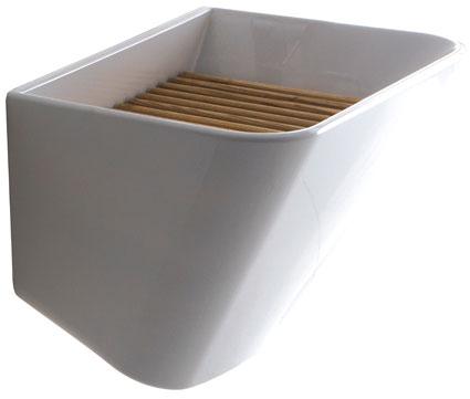 lavabo de style industriel