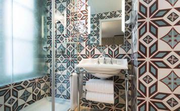 La salle de bains rétro