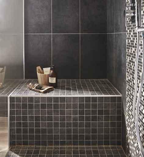 Dans une suite parentale une salle de bains tout confort for Douche a l italienne leroy merlin