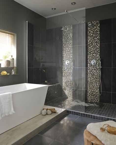 leroy merlin salle de bain douche italienne maison. Black Bedroom Furniture Sets. Home Design Ideas