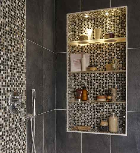 Dans une suite parentale une salle de bains tout confort - Leroy merlin salle de bain douche italienne ...