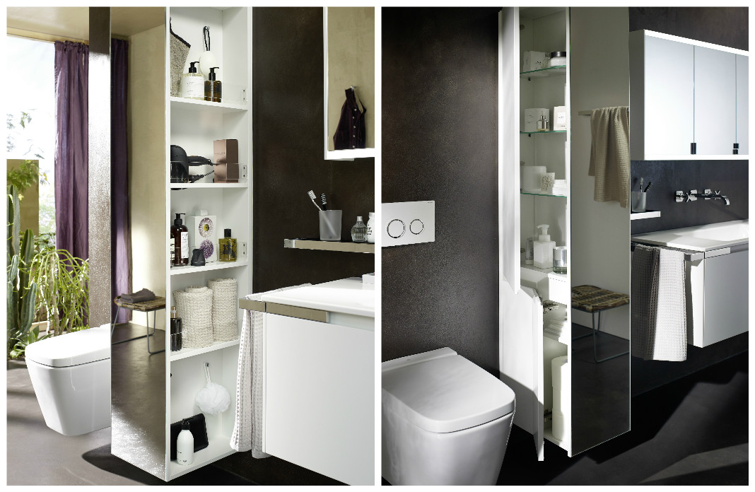 cacher les toilettes derri re une cloison styles de bain. Black Bedroom Furniture Sets. Home Design Ideas