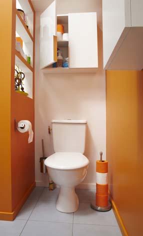 Cacher Les Toilettes Derri Re Une Cloison Styles De Bain