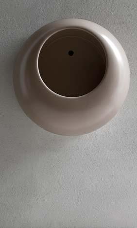 Un urinoir pour la maison, tout rond