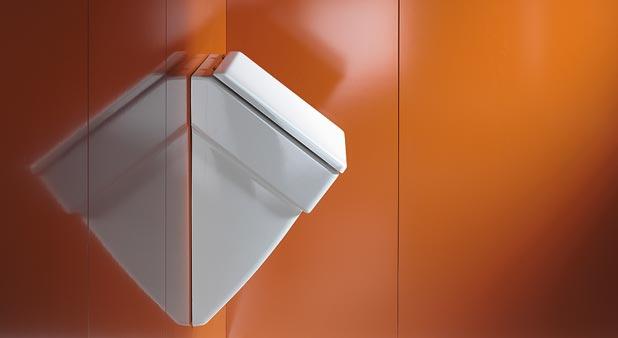 Urinoir design pour la salle de bain