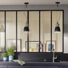 La cloison verri re cr ative de lapeyre authentique for Verriere lapeyre interieur
