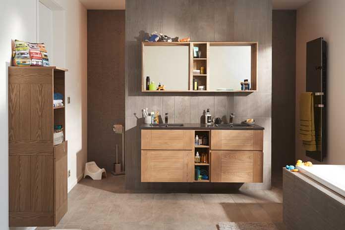 Cloisonner la salle de bains pour mieux l 39 agencer for Agencer une salle de bain