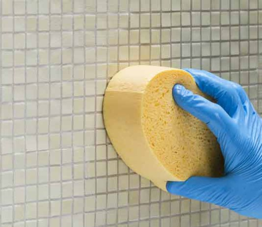 La technique styles de bain for Nettoyer les joints de carrelage de douche