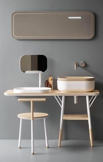 coiffeuse salle de bain fabulous spot encastrable led leroy merlin stunning good encastrable. Black Bedroom Furniture Sets. Home Design Ideas
