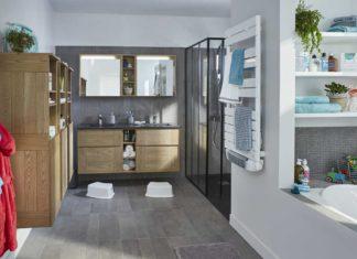 salle de bain familiale tout confort ambiance