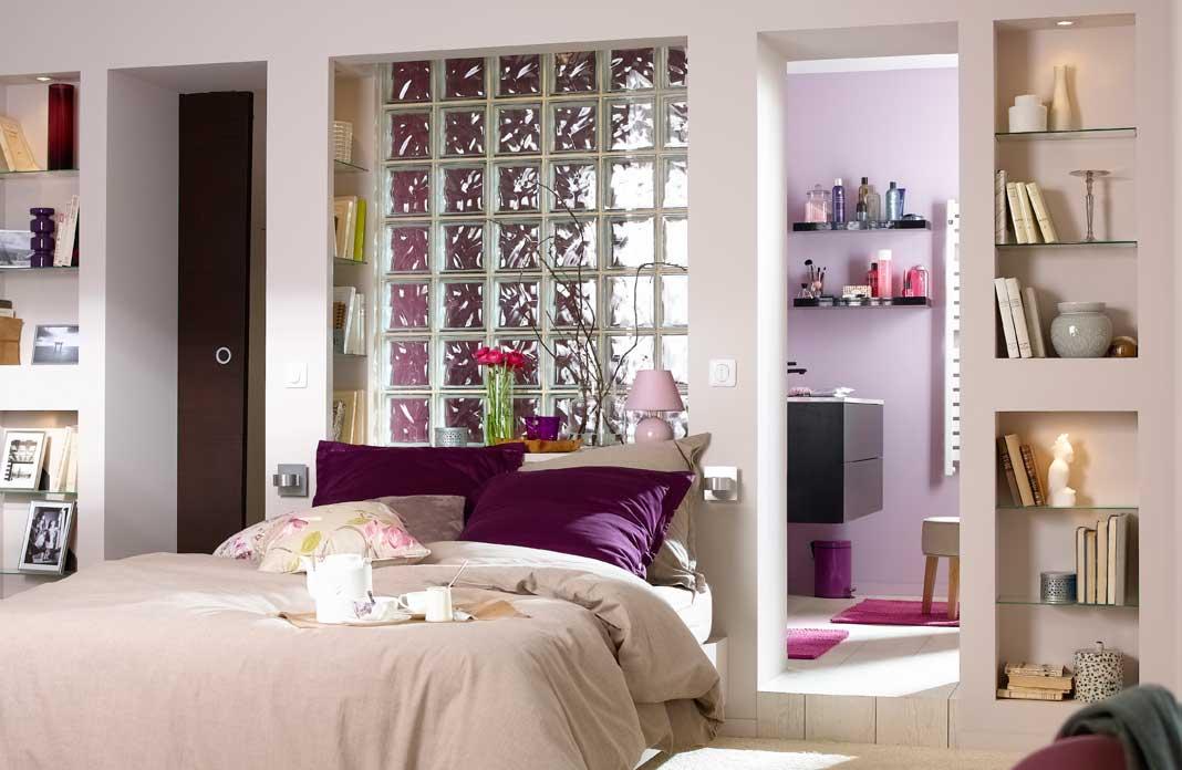 4 conseils pour associer chambre et salle de bains i for Amenagement chambre parentale avec salle de bain et dressing