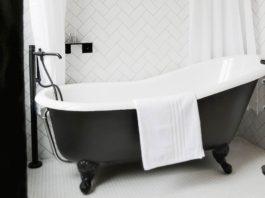 mettre en valeur une baignoire rétro