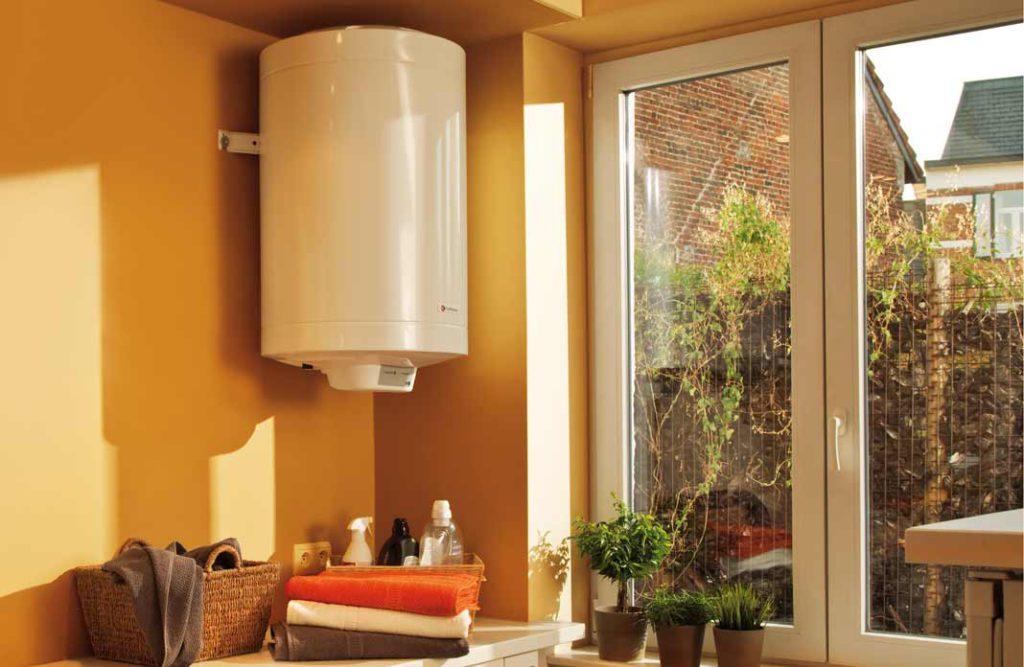 Un chauffe-eau électrique bien protégé
