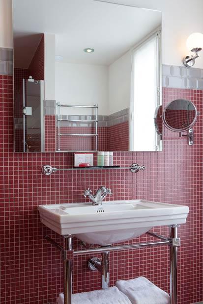 la salle de bains au masculin