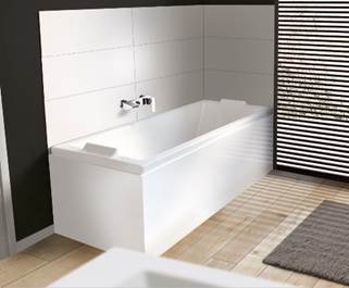 le tablier de baignoire est le ou les panneaux dhabillage destins camoufler lenvers du dcor autrement dit la cuve les pieds qui la soutiennent et - Pose Baignoire Acrylique Avec Tablier