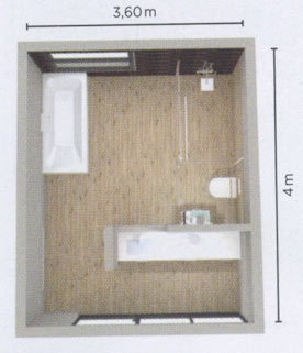 Une salle de bains avec des toilettes bien cachées | Styles ...