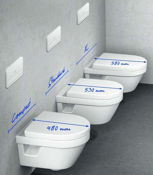 WC en trois dimensions, dont une pour personnes obèses