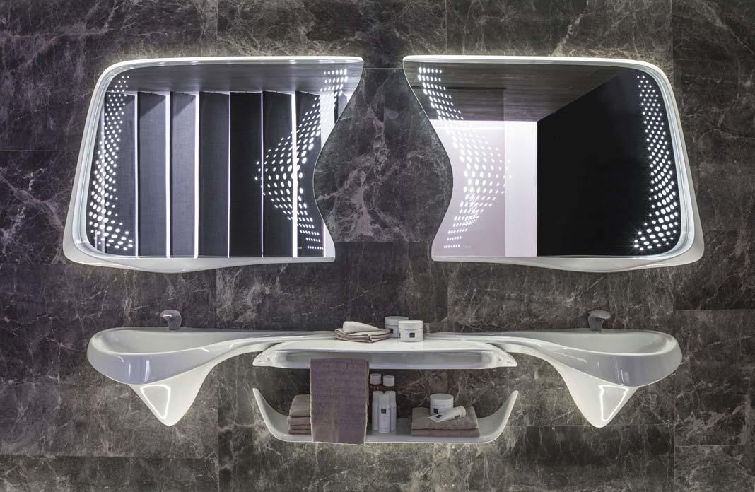 Vitae de Zaha Hadid Porcelanosa