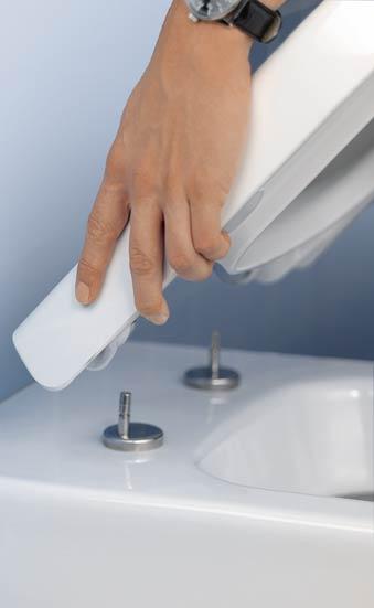 Abattant de WC déclipsable