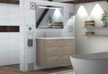 Définition agencement de la salle de bains