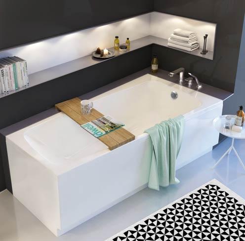 3 baignoires asym triques et design styles de bain. Black Bedroom Furniture Sets. Home Design Ideas