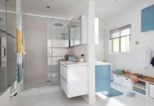 salle de bains à partager