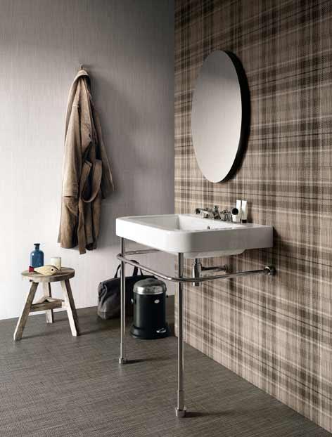 idée carrelage salle de bain de style masculin