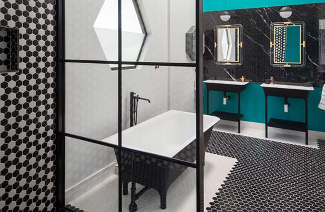 Quand luxe et fantaisie se côtoient dans la salle de bains ...