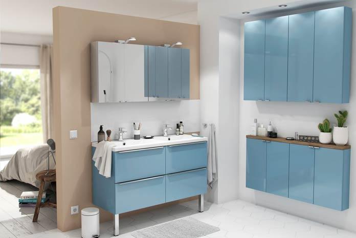 Meuble de salle de bain pensez aux petites profondeurs for Baignoire petite profondeur