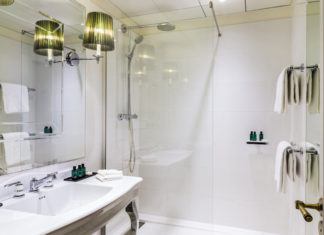 Une belle salle de bain, comme à l'hôtel