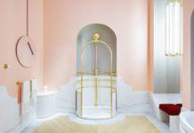 La luxueuse salle de bains dessinée par Alexis Mabille pour Jacob Delafon