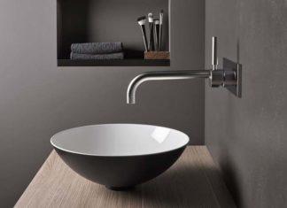 Vasque alape en acier émaillé bicolore