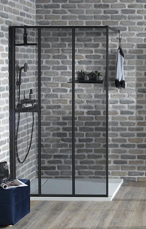 Paroi de douche atelier : Nouvelle Vague de jacob Delafon