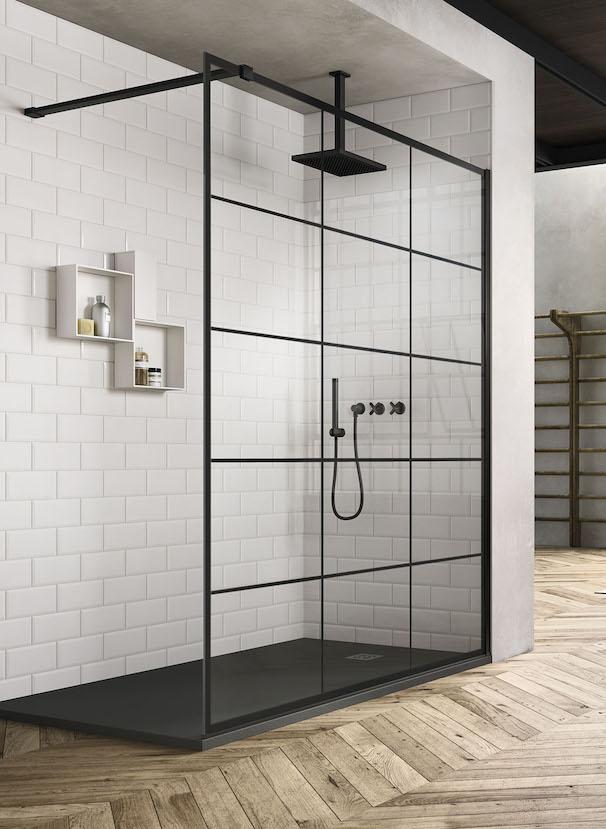 Paroi de douche atelier : Frame de Vismaravetro.