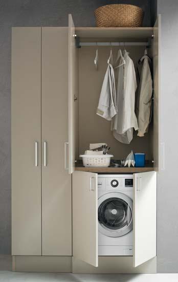 des meubles de salle de bains adapt s la machine laver. Black Bedroom Furniture Sets. Home Design Ideas