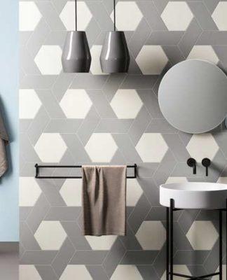 idées originales pour carreler la salle de bain