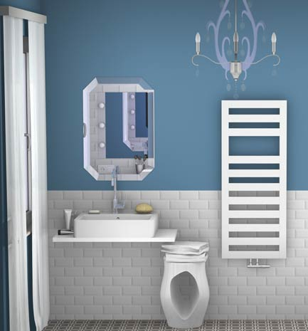 ide n2 pas de meuble vasque mais des plages de dpose un lavabo pour une salle de bain dco et pas chre