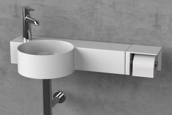 lave-mains en céramique fine val de laufen