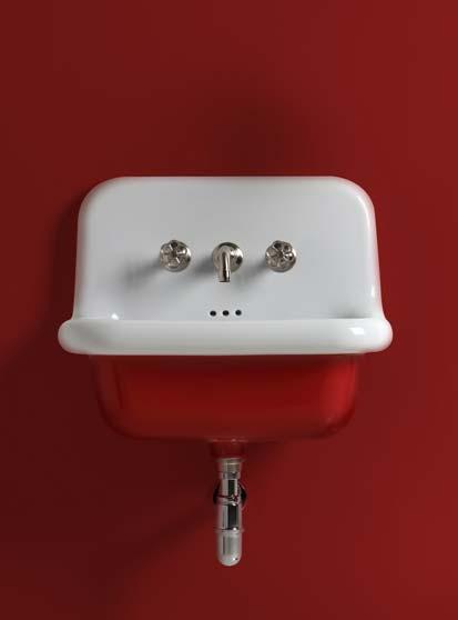 Utiliser la couleur dans la salle de bain : le rouge