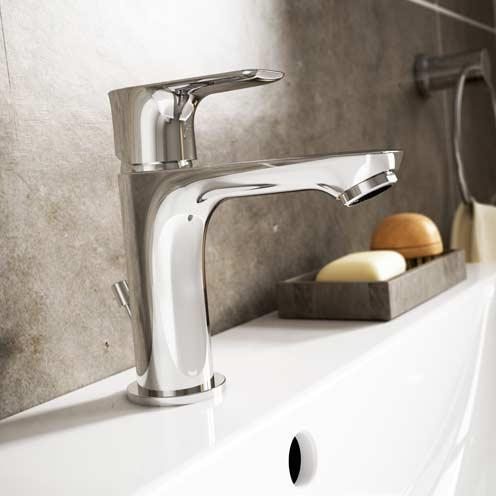 Mitigeur de lavabo économe en eau