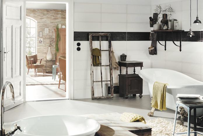 Style de salle de bain : Bohème