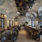 Le bar de l'hôtel Lutetia