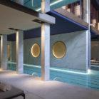 Les salles de bains de l'hôtel Lutetia : le spa